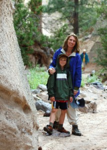 Hiking in Tent Rocks National Monument